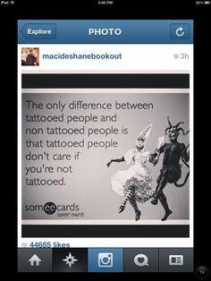 Tattoos humor