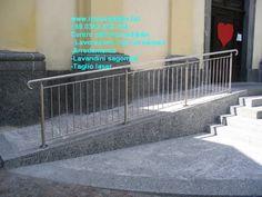 Parapetto inox ringhiera inox protezione rampa disabili