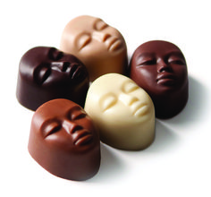 "DeBrand Chocolates ""Faces of the World"""