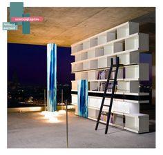 scénographie oeuvre d'art | B_indoor | www.b-indoor.com/ #decoration #design #agencement #contemporain #art #mobilierdesign #amenagement #plans #scénographies #bibliothèque