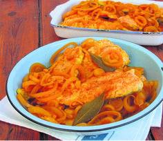 Die Paasnaweek lê voor en ingelegde Kaap-Maleise kerrievis is 'n eg Suid-Afrikaanse resep wat tradisioneel hierdie tyd van die jaar geniet word.