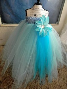 turquoise tulle wedding dress - Google Search
