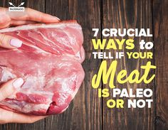 Meat was our first staple food, and continues to be an important part of our diet. Here are 7 essential ways to tell if your meat is Paleo or not. Clean Recipes, Paleo Recipes, Real Food Recipes, Gluten Free Diet, Paleo Diet, Paleo Food, Ketogenic Diet, Eat To Live, Food Staples