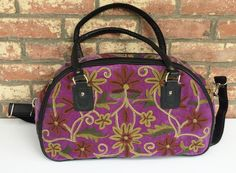 Deep Purple Weekender Bag