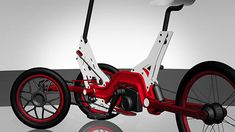znug design | project_toyodatrike Three Wheel Bicycle, Electric Scooter, Electric Vehicle, Tricycle Bike, Reverse Trike, Cargo Bike, 3rd Wheel, Bike Style, Bicycle Design