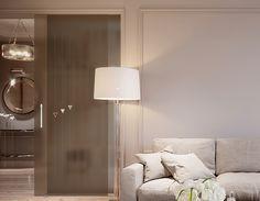 Glass and light brighten interiors: Bertolotto Porte