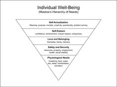 In 2018, the world will celebrate the 75th anniversary of Abraham Maslow's classic paper published in Psychological Review that proposed a hierarchical approach to human motivation. Maslow's hierarchy of needs — that pyramid constructed on a base of physiological needs, and proceeding upwards through safety and security, love and belonging, and self-esteem, before topping out with self-actualization — is well known to millions who have had any exposure to the field of psychology. Fulfill…