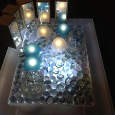 Love this - 'Messing about with colour & light' from Louise Jupp (LouiseJupp… Reggio Emilia, Light Table, A Table, Let's Make Art, Sensory Tubs, Light Board, Ball Lights, Light Project, Classroom Inspiration
