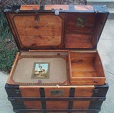 Restored Antique Trunks #272