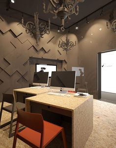Interior Design Concept for ModnaKasta // Vasiliy Butenko