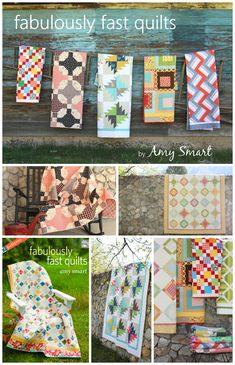 Fabulous instruction for beginning quilters with great hints for success! Strip Piecing: Rail Fence Block with Amy Smart | Sew Mama Sew |