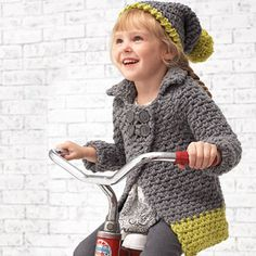 from Bernat: Pattern Book Preview - Kids on the Go