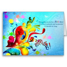 Happy Holi Card