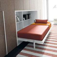 Space saving furniture ideas for your home Space Saving Ideas For Home, Space Saving Beds, Space Saving Furniture, Upcycled Furniture, Pallet Furniture, Home Furniture, Furniture Design, Furniture Ideas, Cama Murphy