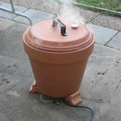 Flower Pot Smoker Tutorial