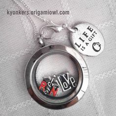 a great gift for an RN who loves her job! Origami Owl Custom Jewelry
