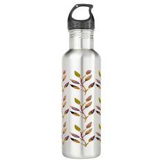 Autumn Beauty Stainless Steel Water Bottle