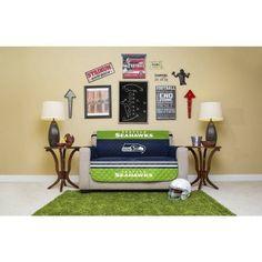NFL Licensed Furniture Protector, Love Seat, Seattle Seahawks