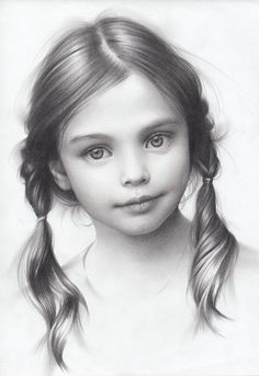 Drawing Pencil Portraits - Portrait of a Girl, Andrey Belichenko on ArtStation Discover The Secrets Of Drawing Realistic Pencil Portraits Portrait Au Crayon, Portrait Art, Drawing Portraits, Drawing Faces, Faces To Draw, Face Pencil Drawing, Pencil Portrait Drawing, Drawing Hair, Portrait Sketches