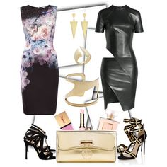 Designer Clothes, Shoes & Bags for Women All Black Party, Paul Andrew, Alexandre Vauthier, Lipsy, Vince Camuto, Chelsea, Christian Louboutin, Chanel, Paris