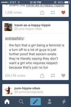 Image via We Heart It #boho #equality #hippie #indie #men #qoute #sexism #tumblr