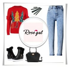 """""""Rosegal 29"""" by ajisa-ikanovic ❤ liked on Polyvore featuring WithChic"""