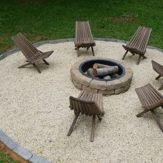 How to Build a Fire Pit in Your Backyard: I Used a Fire Pit Kit! This post is brought to you in part by The Home Depot. I can't tell you how long I'd been wanting to build a DIY fire pit in my backyard, with a stone walkway. Fire Pit Bench, Fire Pit Chairs, Fire Pit Seating, Fire Pit Area, Fire Pit Backyard, Fire Pit Gravel Area, Seating Areas, Back Yard Fire Pit, Desert Backyard