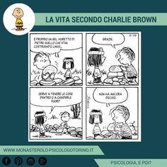 La vita secondo #CharlieBrown: I confini hanno sempre due funzioni. #Peanuts