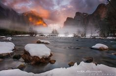 A Midwinter Night's Dream ~ Yosemite Valley by landESCAPEphotography | jeff lewis, via Flickr