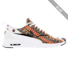 half off e00be fd71d Nike x Liberty White Merlin Air Max Thea Trainers