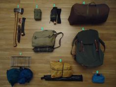 Bushcraft and camping gear for overnight trips « The Weekend Woodsman