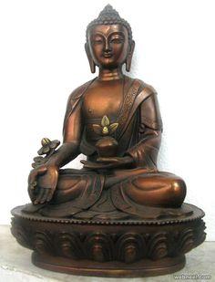 buddha bronze sculpture