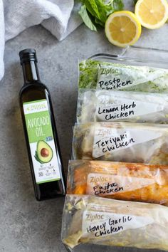 5 Easy Chicken Marinades - The Real Food Dietitians Paleo Chicken Marinade, Marinated Chicken Recipes, Chicken Marinades, Easy Healthy Recipes, Healthy Cooking, Real Food Recipes, Whole Foods Market, Ceviche, Dump Meals