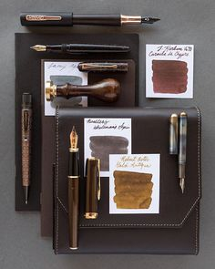 A fountain pen layout inspired by Augusta Savage's portrait bust, Gamin.