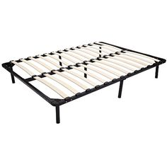 74''\\79'' Wood Slats Metal Bed Frame Platform Sleep Bedroom Mattress Foundation ** Find out more about the great product at the image link.
