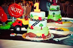Dump truck 1st birthday, best cake ever!    From Modern Pastry Shop in Hartford, CT    Matched my theme exactly!!