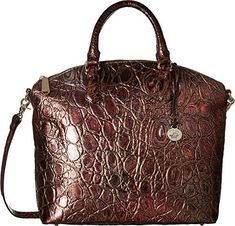 Brahmin Womens Large Duxbury Satchel Multi One Size ** Details can be found by clicking on the image. (This is an affiliate link) Brahmin Handbags, Brahmin Bags, Beautiful Things, Purses And Bags, Wallets, Shoe Boots, Baby Shoes, Satchel, Booty
