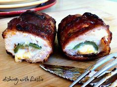 BBQ Chicken Bombs (grill or oven)