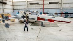 This Incredible Full Scale Lego X-Wing Is the Largest Model In History