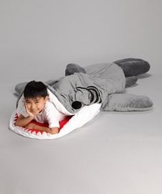 Chumbuddy Sleeping Bag from Patch Together.  Chase would love this!