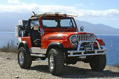 Jeep CJ7 chrome please