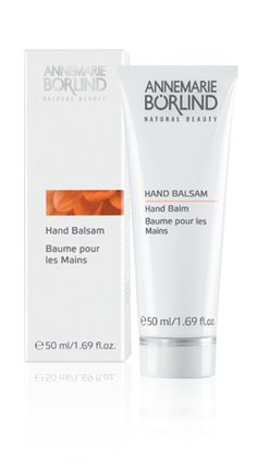 Hand Balm Intensive care and active protection for stressed hands and nails. Natural moisturizing ingredients and strengthening herbal extracts smooth rough, chapped hands and improve the skin's resistance against external influences. Hand Balm is quickly absorbed and does not leave a greasy film.
