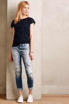 ....  like the tee better ....  Closed Cropped Worker High Rise Denim - #anthrofave