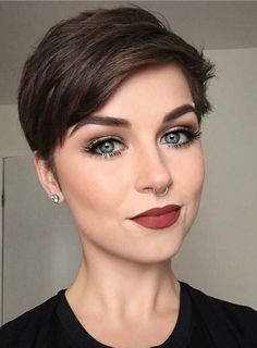 41 Trendy Pixie Haircuts for Short Hair in 2018. Nowadays, pixie has become one of the most demanding haircuts among ladies. Women like to sport this style of short hair because of its easy and bold look. Wold's most fashionable women like to spot this haircut. Here we've rounded up our favorite ideas of pixie haircuts for short hair women to wear in year 2018 so that they may easily get best short hair looks.