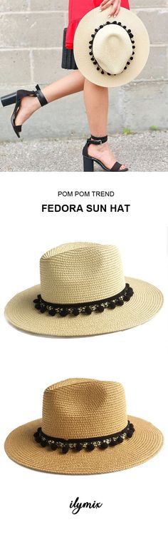 7340423d9dd This straw sun hats is a must have. ILYMIX Accessories