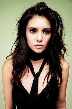 #TVD The Vampire Diaries  Nina Dobrev(Elena/Katherine/Amara etc..), I'm pretty sure I've already pinned this before.