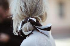 "252 gilla-markeringar, 4 kommentarer - Isabella Löwengrip (@isabellalowengrip) på Instagram: ""Good morning! What do you think about my new favorite hairdo? I just love the scarf detail #hairdo"""