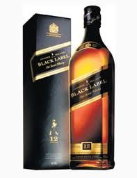 Johnny Walker Black Label. We will have to raise a glass in memory of Hitch.  Here's to Hitch!!!!!!!!!