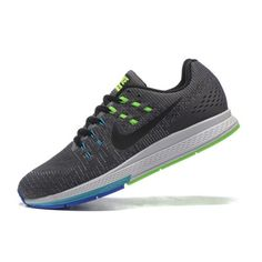 Best Nike Air Zoom Structure 19 Mens Grey Blue Green Running Shoes