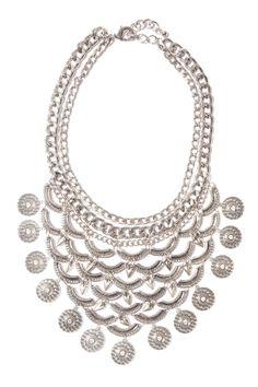 Collar hindú con monedas plateado Amy - Joyas & Bisutería - Accessories